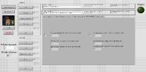 Пример программного окна для тестирования оптопар на дозовую стойкость