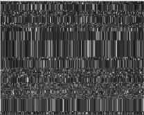 Деградация изображения с FPA-фотоматрицы при дозовом воздействии:14 крад