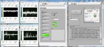 Внешний вид приборной панели программы тестирования ПЛИС на воздействия ОЯЧ в среде LabView